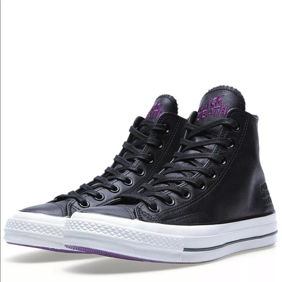 Details about Black Sabbath All Star Chuck Taylor Converse Runners Size 9 US Mens 11 US Ladies
